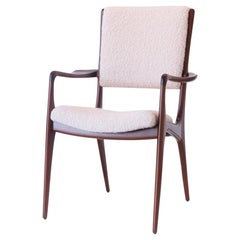 Vladimir Kagan Armchair, circa 1950s, Designed for Dreyfuss