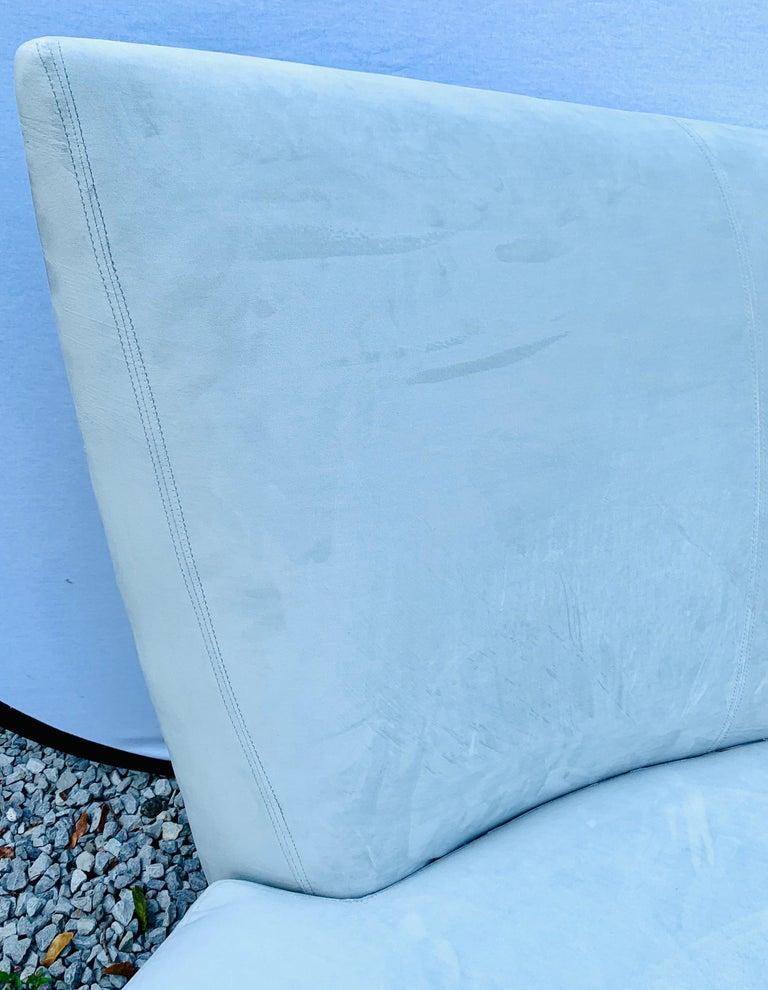 20th Century Vladimir Kagan Bilbao Serpentine Curved Sofa with New Upholstery