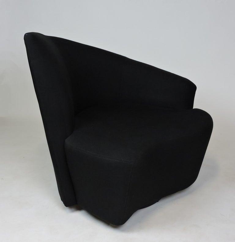 Vladimir Kagan Bilbao Swivel Lounge Chair for Weiman For Sale 1