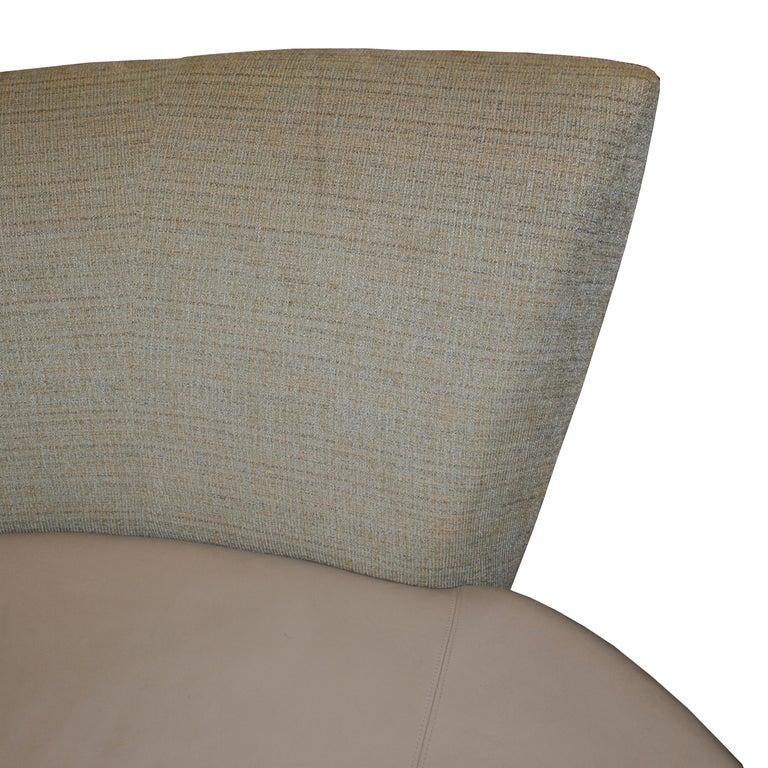 Leather Vladimir Kagan Bilboa Sofa For Sale