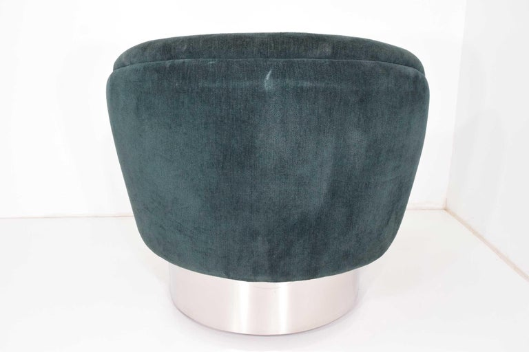 Vladimir Kagan Crescent Chair In Good Condition For Sale In Dallas, TX