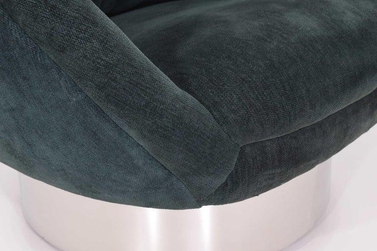 Vladimir Kagan Crescent Chair For Sale 1