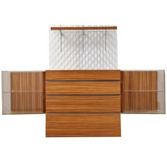 Vladimir Kagan Design Mid-Century Modern Bar Credenza Console Sideboard Buffet