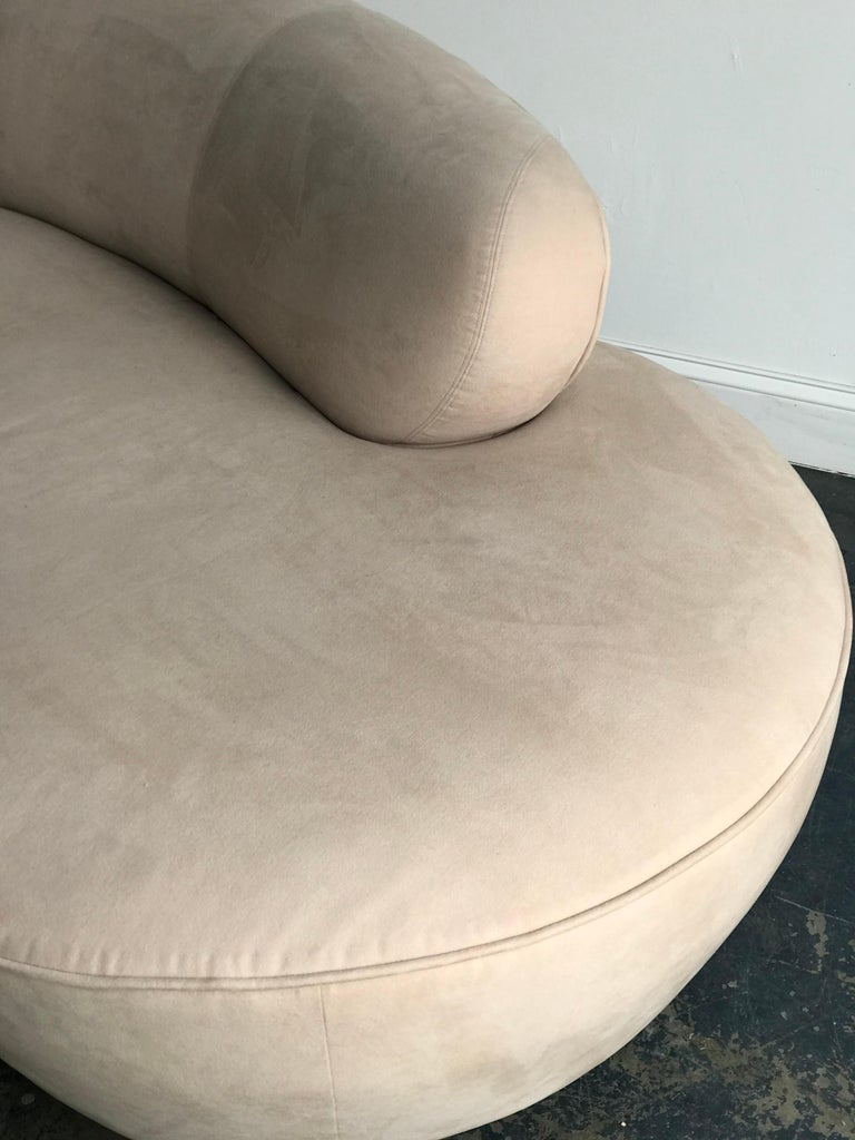 Vladimir Kagan for Directional Serpentine Cloud Sofa, Organic Modernist In Good Condition In St.Petersburg, FL