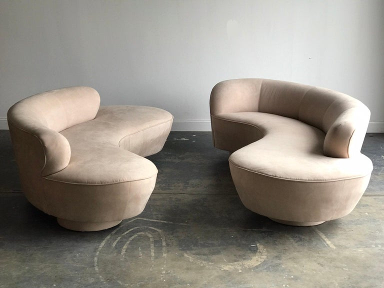 Vladimir Kagan for Directional Serpentine Sofa, Organic Modernist 2