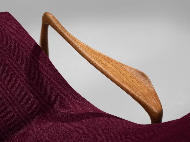 Vladimir Kagan for Dreyfuss Reclining 'Contour' Lounge Chair For Sale 3