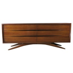 Vladimir Kagan for Grosfeld House 6-Drawer Dresser, 1955