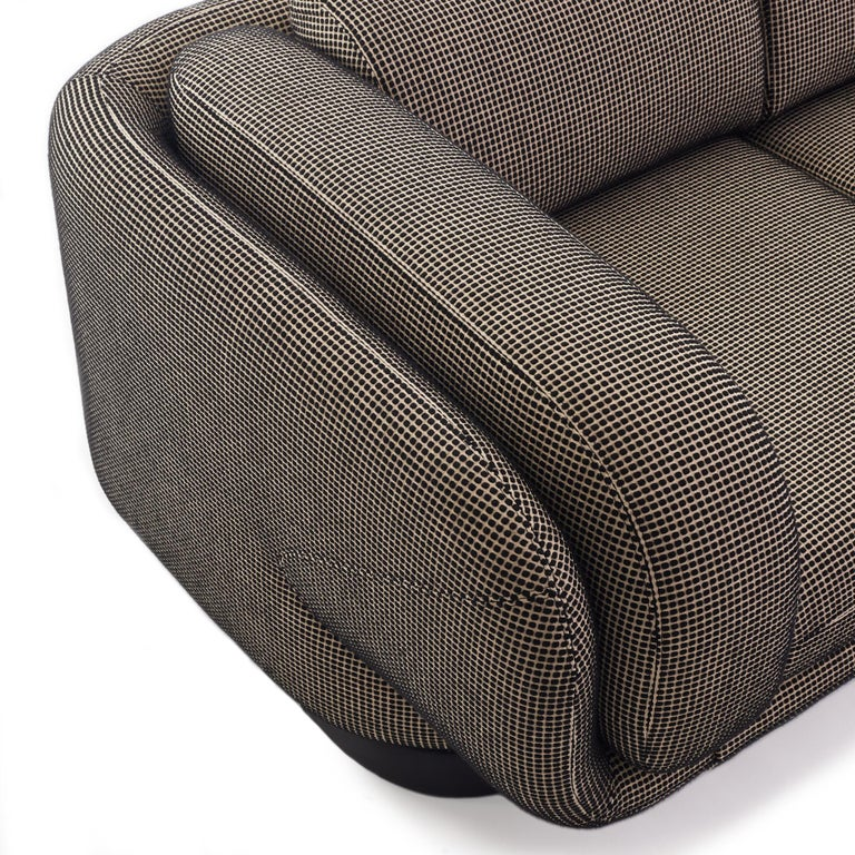 Wool Vladimir Kagan for Preview Settee Loveseat For Sale