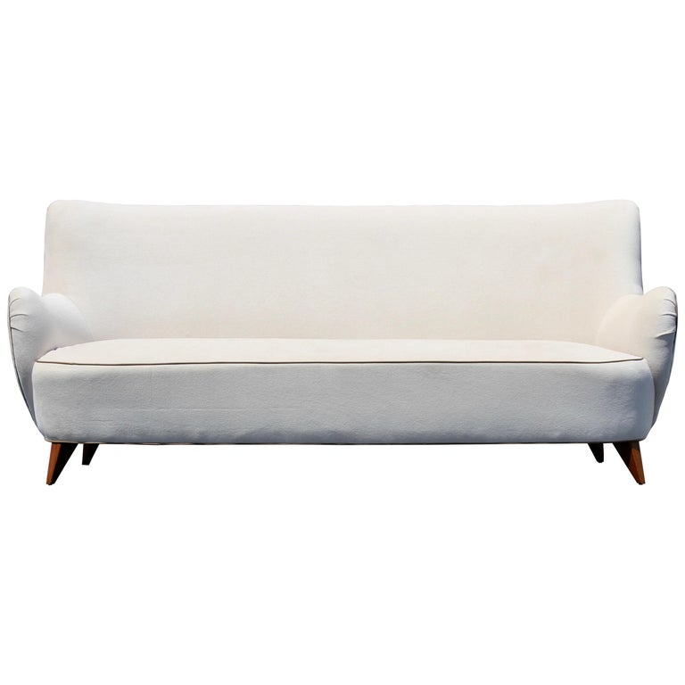 Vladimir Kagan for Pucci Sculptural Form Sofa, Holy Hunt Fabric For Sale