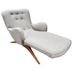 "Vladimir Kagan Iconic ""Contour Chaise Lounge"", 1950s"