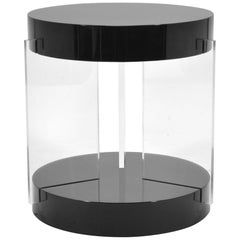 Vladimir Kagan Lucite Leg Side Table