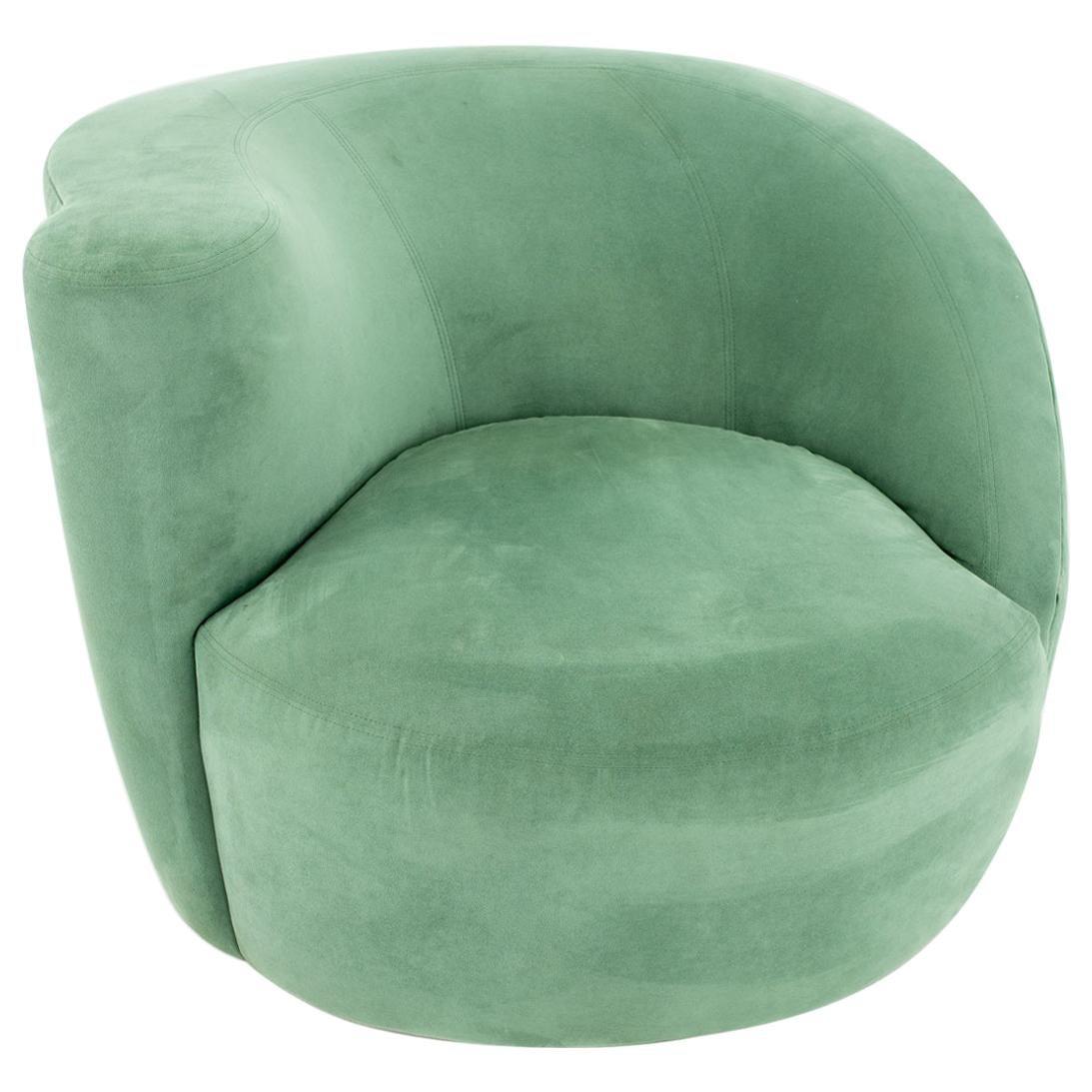 Vladimir Kagan Mid Century Nautilus Lounge Chair