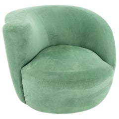 Vladimir Kagan Midcentury Nautilus Lounge Chair
