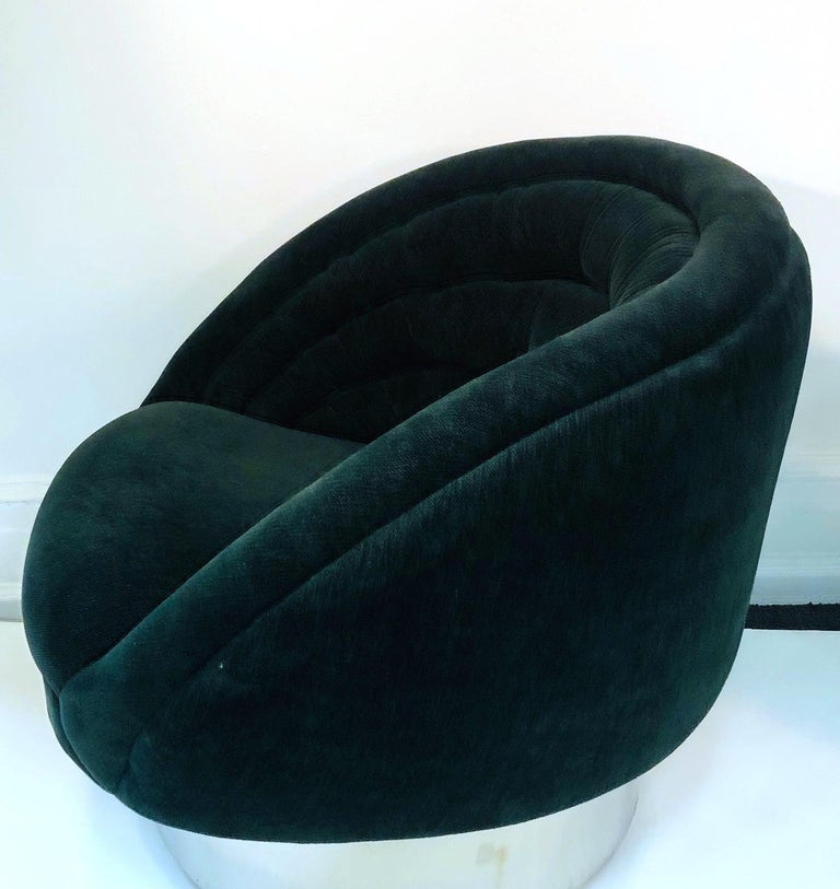 Vladimir Kagan Modern Lounge Chairs For Sale 4