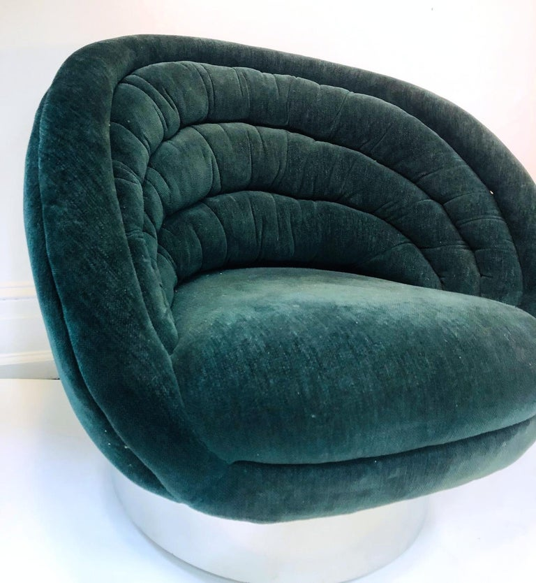 Vladimir Kagan Modern Lounge Chairs For Sale 2