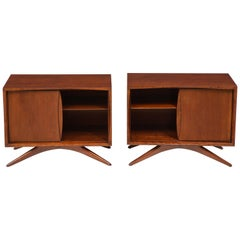 Vladimir Kagan Nightstands for Grosfeld House