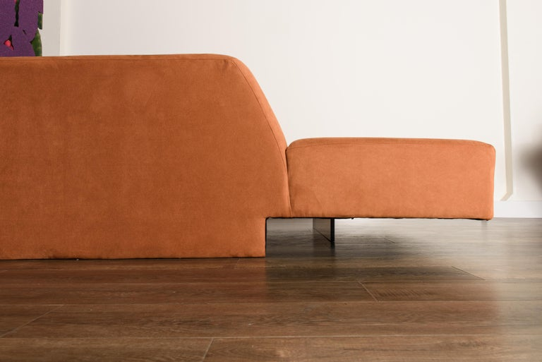 Vladimir Kagan 'Omnibus' Sectional Sofa with Lucite Legs, 1970s For Sale 13