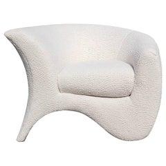 Vladimir Kagan Sculptural Hurricane Lounge Club Chair