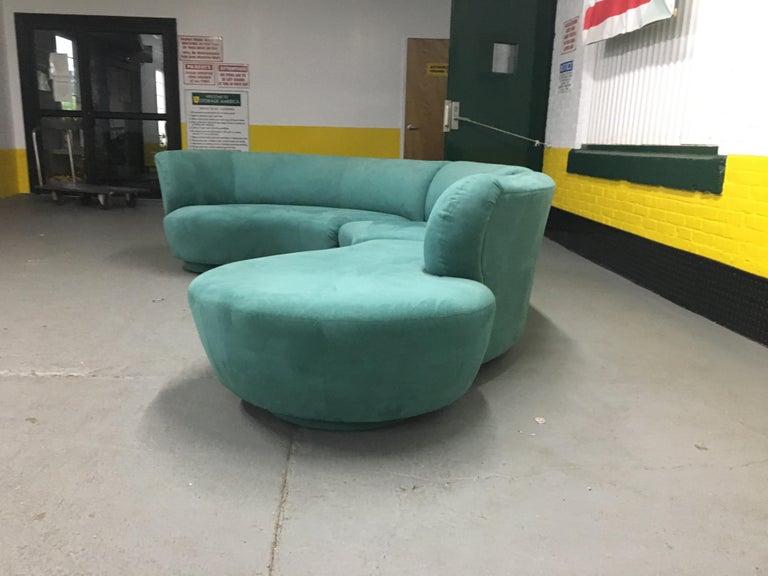 Vladimir Kagan Sectional 'Cloud' Sofa for Weiman For Sale 3