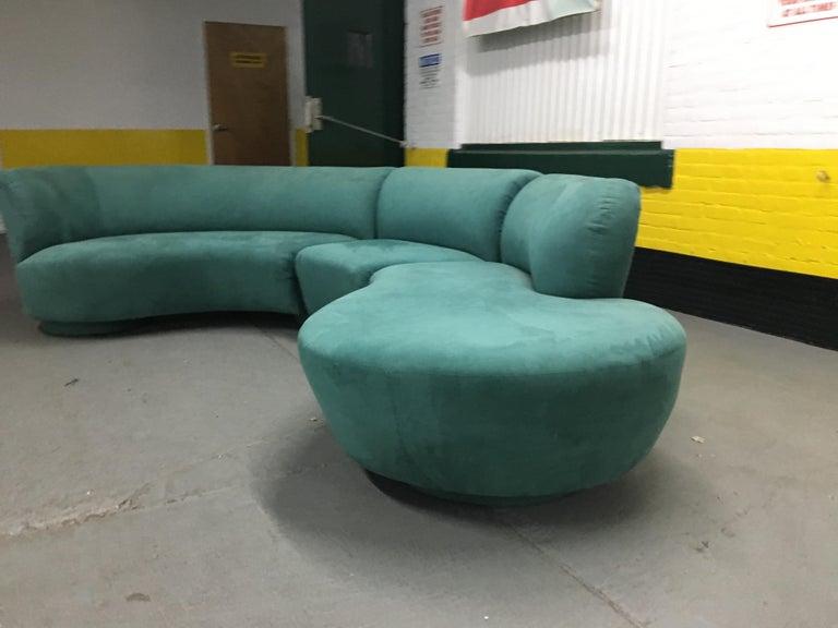 Vladimir Kagan Sectional 'Cloud' Sofa for Weiman For Sale 4