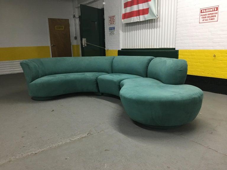 Vladimir Kagan Sectional 'Cloud' Sofa for Weiman For Sale 5