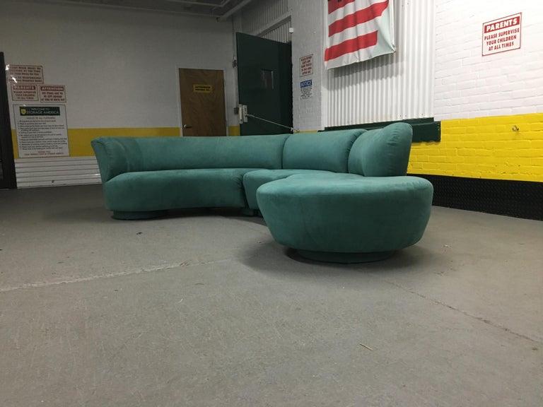 Mid-Century Modern Vladimir Kagan Sectional 'Cloud' Sofa for Weiman For Sale