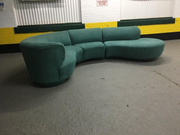 American Vladimir Kagan Sectional 'Cloud' Sofa for Weiman For Sale