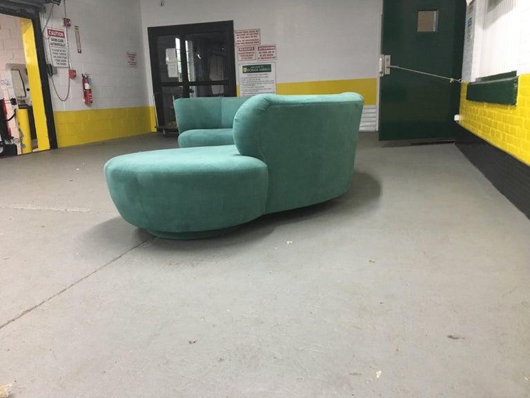 Vladimir Kagan Sectional 'Cloud' Sofa for Weiman For Sale 1