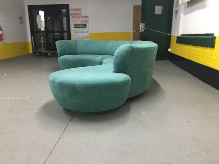 Vladimir Kagan Sectional 'Cloud' Sofa for Weiman For Sale 2