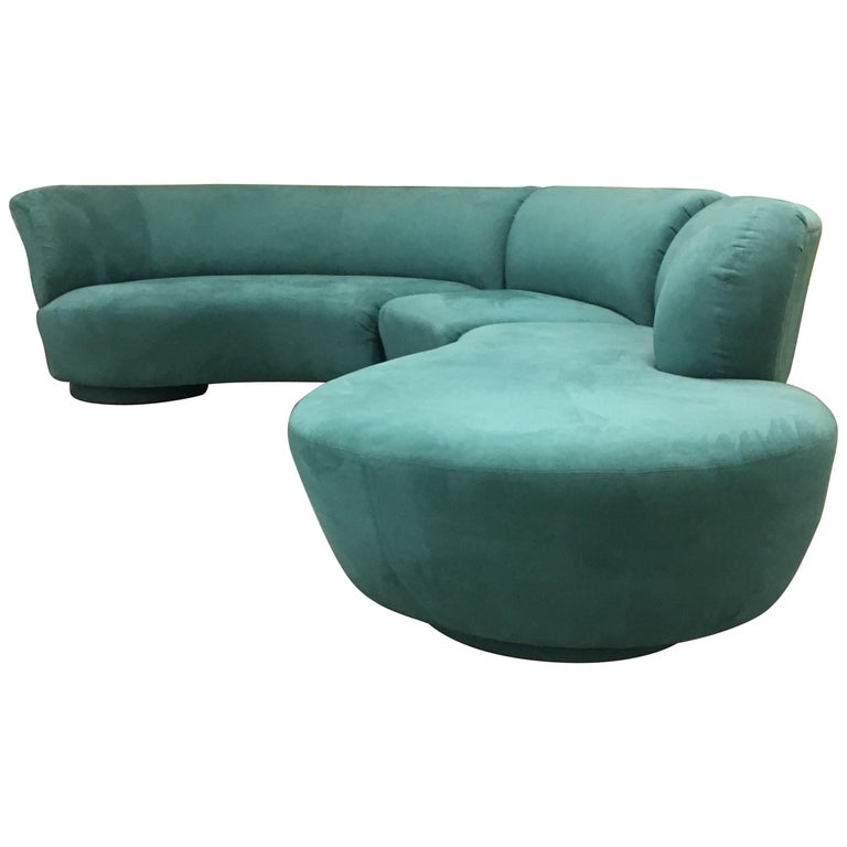 Vladimir Kagan Sectional 'Cloud' Sofa for Weiman For Sale