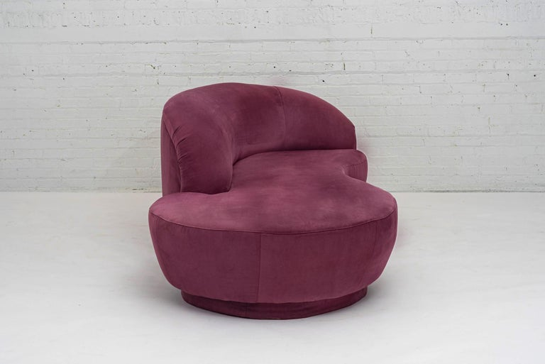 Late 20th Century Vladimir Kagan Sofa for Directional, 1990 For Sale