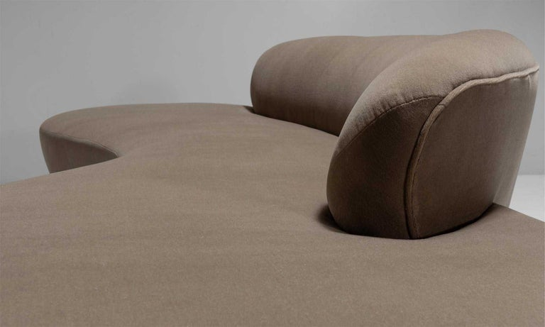 Contemporary Vladimir Kagan Sofa For Sale