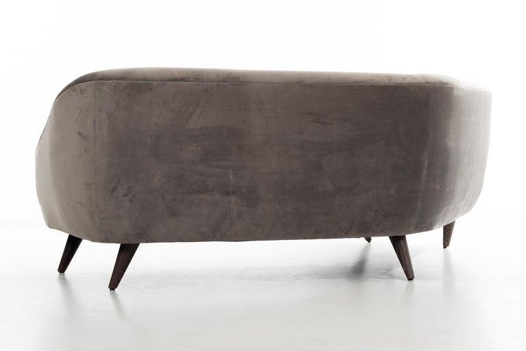 Oak Vladimir Kagan Sofa For Sale