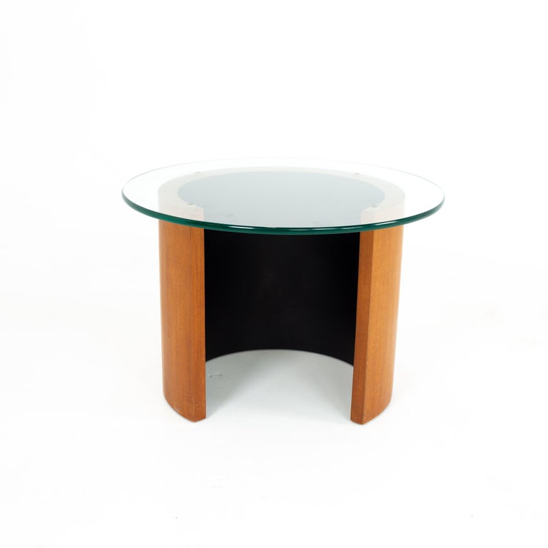 Mid-Century Modern Midcentury Walnut Side End Table For Sale