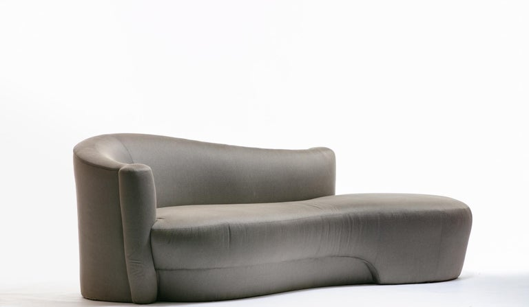 Mid-Century Modern Sculptural Cloud Sofa by Weiman For Sale