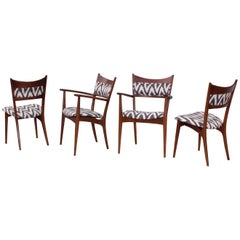 Mid-Century Modern Sculptural Dining Chairs