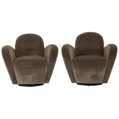 Vladimir Kagan Swivel Chairs