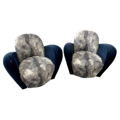 """Michael Wolk """"Miami"""" Swivel Chairs For Directional"""