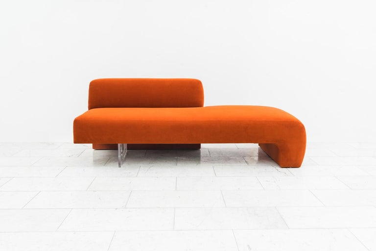 Vladimir Kagan, Three-Piece Omnibus Sectional, USA, circa 1970s In Excellent Condition For Sale In New York, NY
