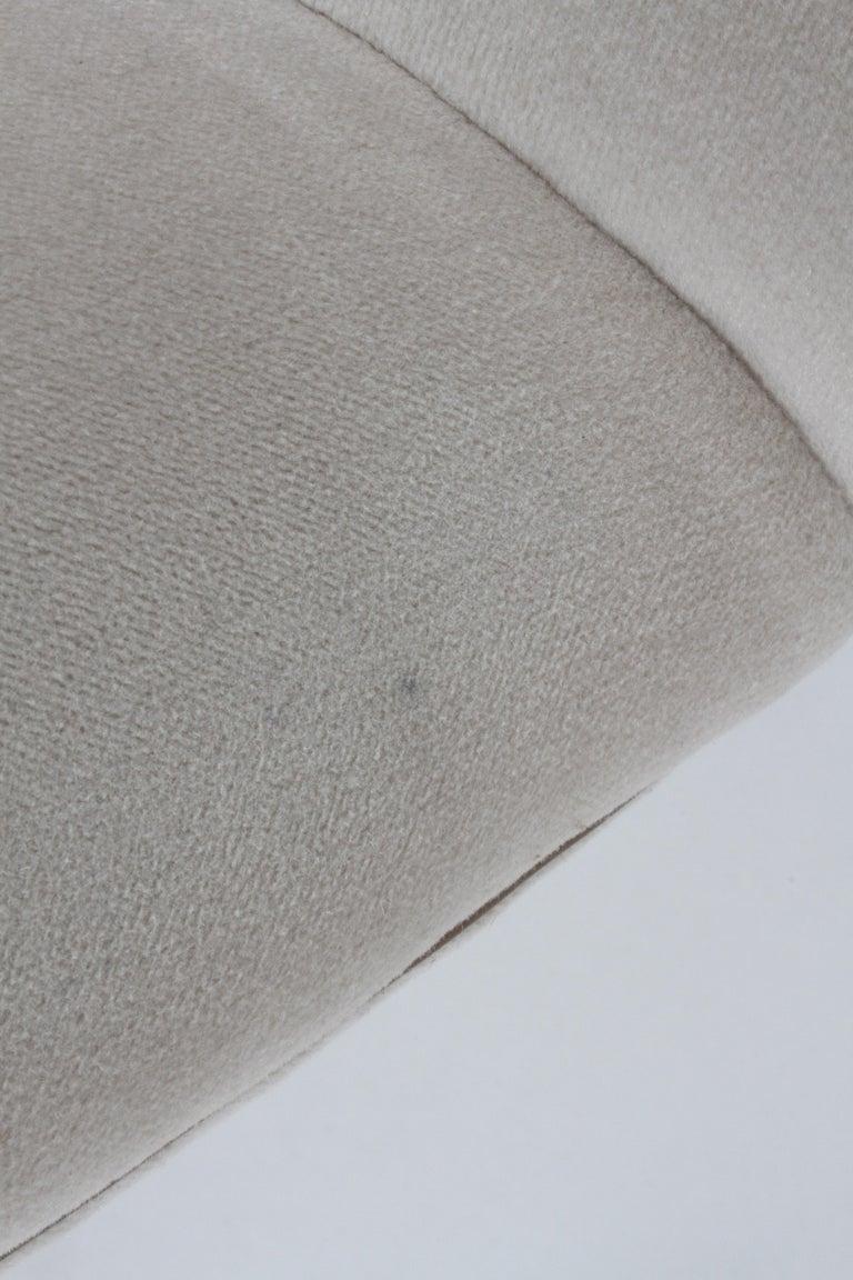 Vladimir Kagan Tilt-Swivel Barrel Lounge Chair Model 100-S w/ Holly Hunt Velvet For Sale 5