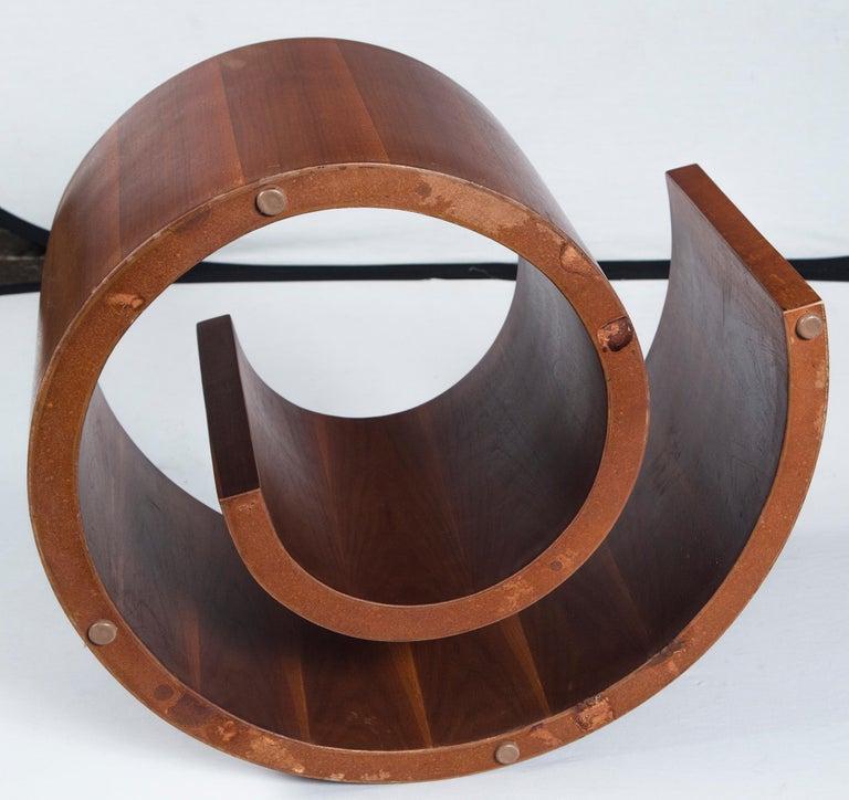 Vladimir Kagan Wood Snail Table 3