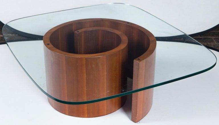 Vladimir Kagan Wood Snail Table 1