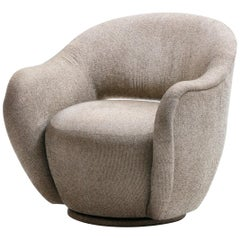 Vladimir Kagan WYSIWYG Swivel Chair for Directional