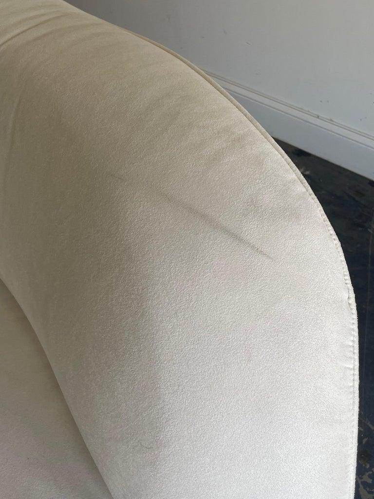 "Vladimir Kagan ""Zoe"" Cloud Sofa, American Leather, Organic Modern For Sale 2"