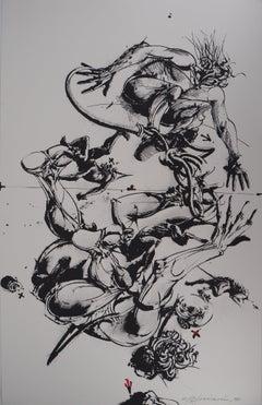 Escapes - Original Handsigned Lithograph, Ltd 25 copies