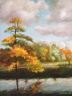 Breath ofAutumn, Painting, Oil on Canvas