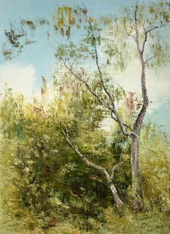 Forest elegy, Painting, Oil on Canvas