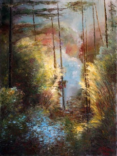Forest Fantasy, Painting, Oil on Canvas