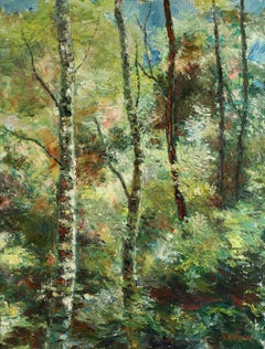 Forest Joy, Painting, Oil on Canvas