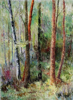 Forest Melody, Painting, Oil on Canvas